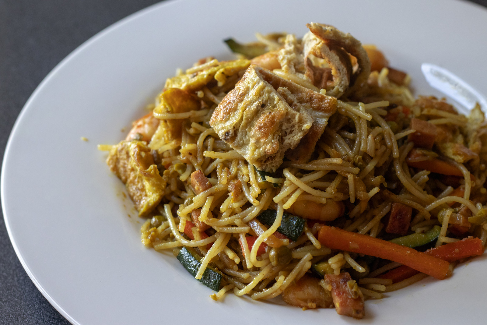Singapore Mei Fun (Singapore Noodles)